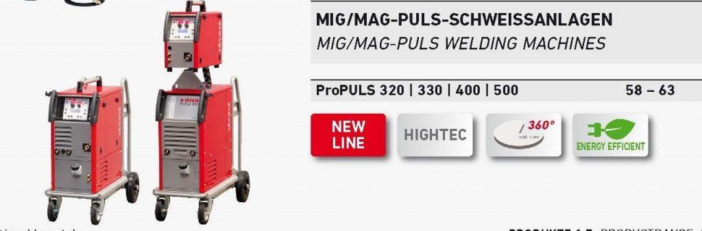 Mig - Mag arco pulsado