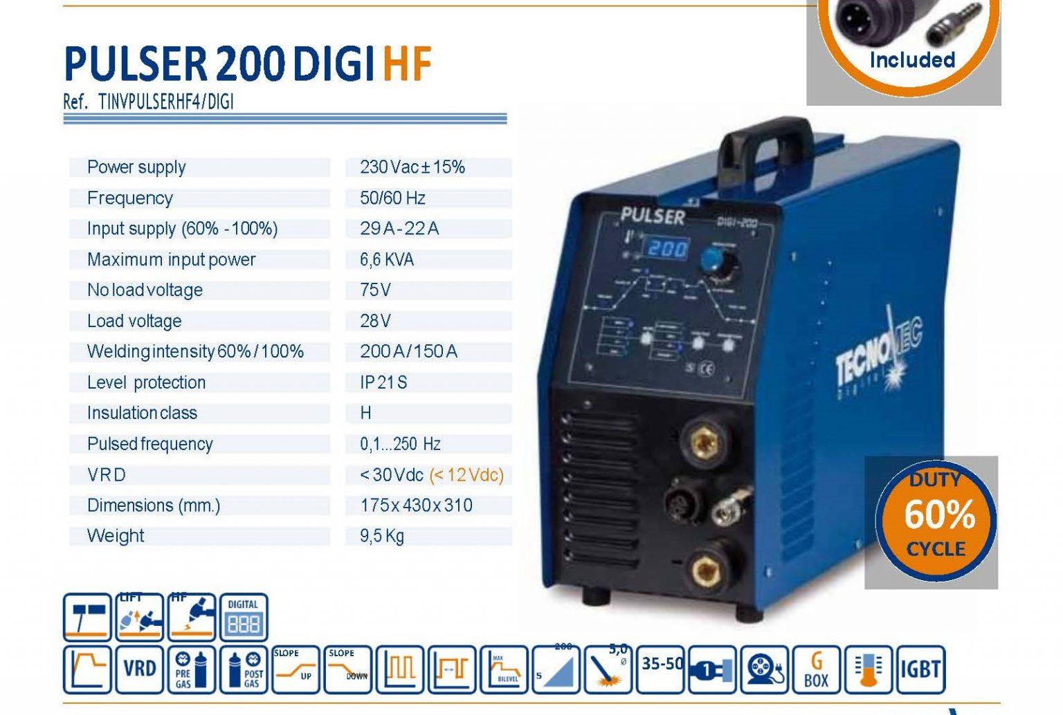 Pulser 200 Digi