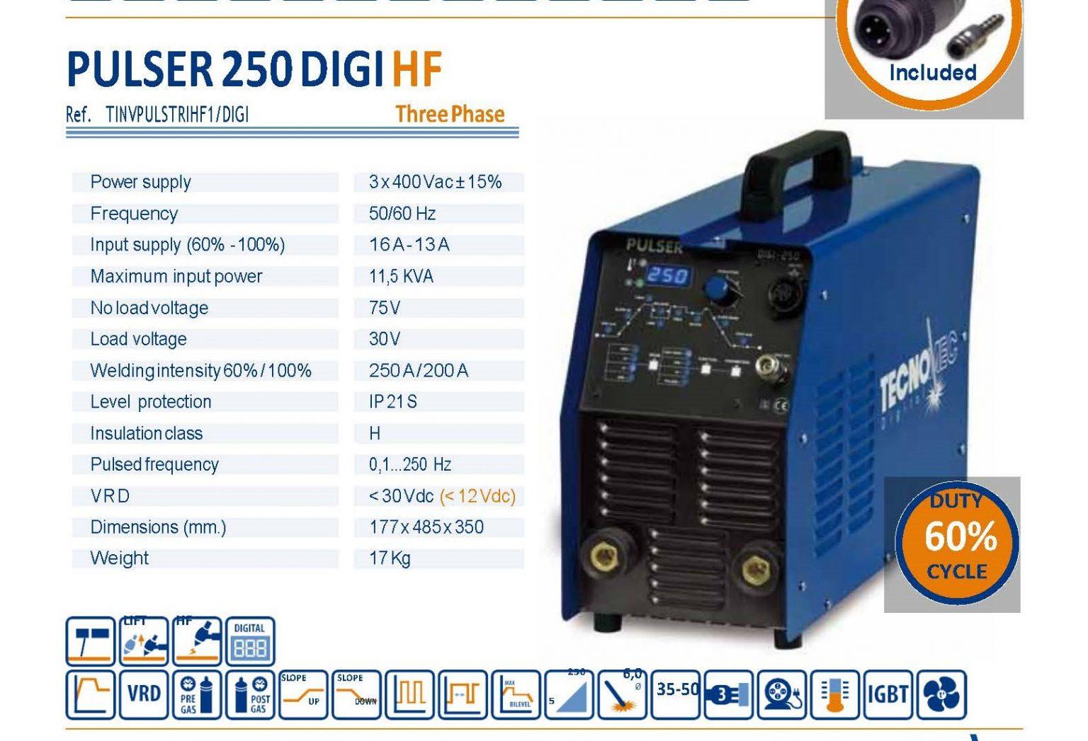 Pulser 250 Digi